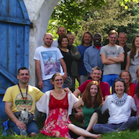£100 enables a Ukrainian, Hungarian, Russian or Polish sangha member to go on retreat